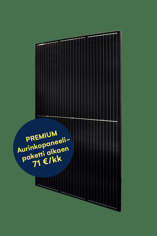 premium aurinkopaneeli oomista